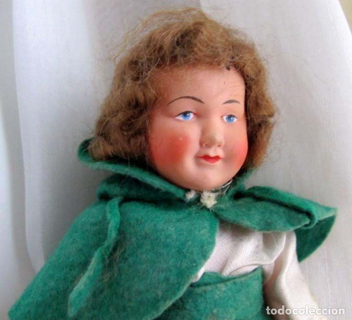 Muñecas Celuloide: ANTIGUA MUÑECA DE CELULOIDE MARCADA FRANCE 210,OLD DOLL POUPEE,PUPPE - Foto 2 - 213619918