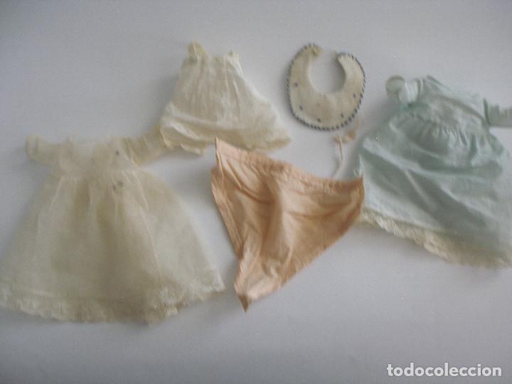 Muñecas Celuloide: Antiguo muñeco bebé celuloide fino cáscara de huevo ropa original Deposé Francia años 20 - Foto 20 - 217536478