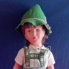 Muñecas Celuloide: ANTIGUO MUÑECO KATHE KRUSE T40 ALEMANA EN PERFECTO ESTADO. Lote 221364313
