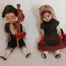 Muñecas Celuloide: ANTIGUOS MUÑECOS AÑOS 50, TRAJES REGIONALES EN CELULOIDE. Lote 221561648