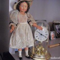 Muñecas Celuloide: MUÑECA DE CELULOIDE TODA ORIGINAL, 35 CMS, EN EL CUELLO MARCA FRANCE 35. Lote 221568325