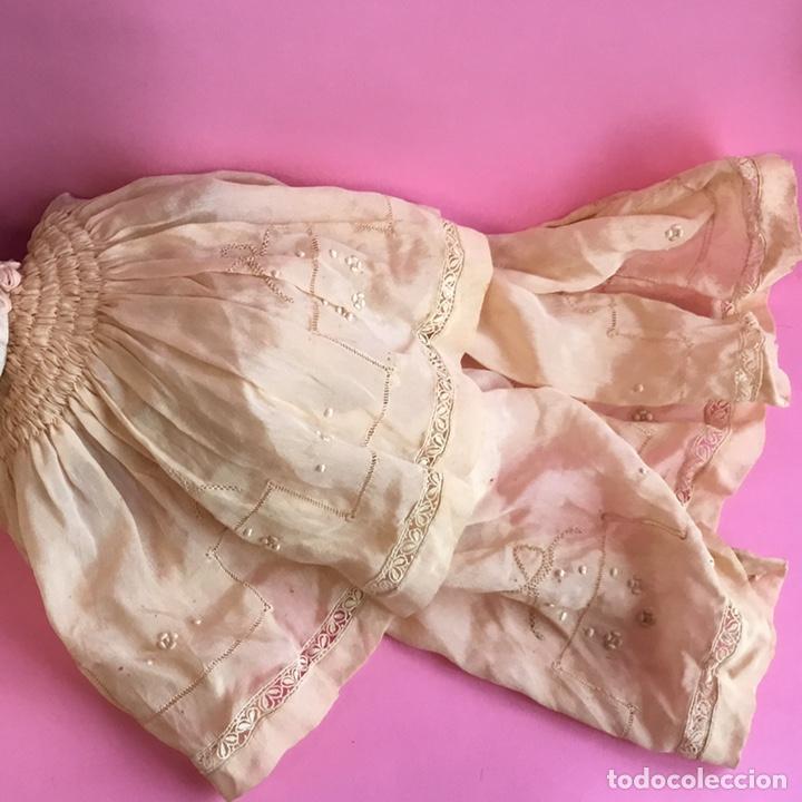 Muñecas Celuloide: Muñeco Bruno Schmidt, Schuzt marke, de celuloide, traje en seda natural y bordados - Foto 4 - 224470743