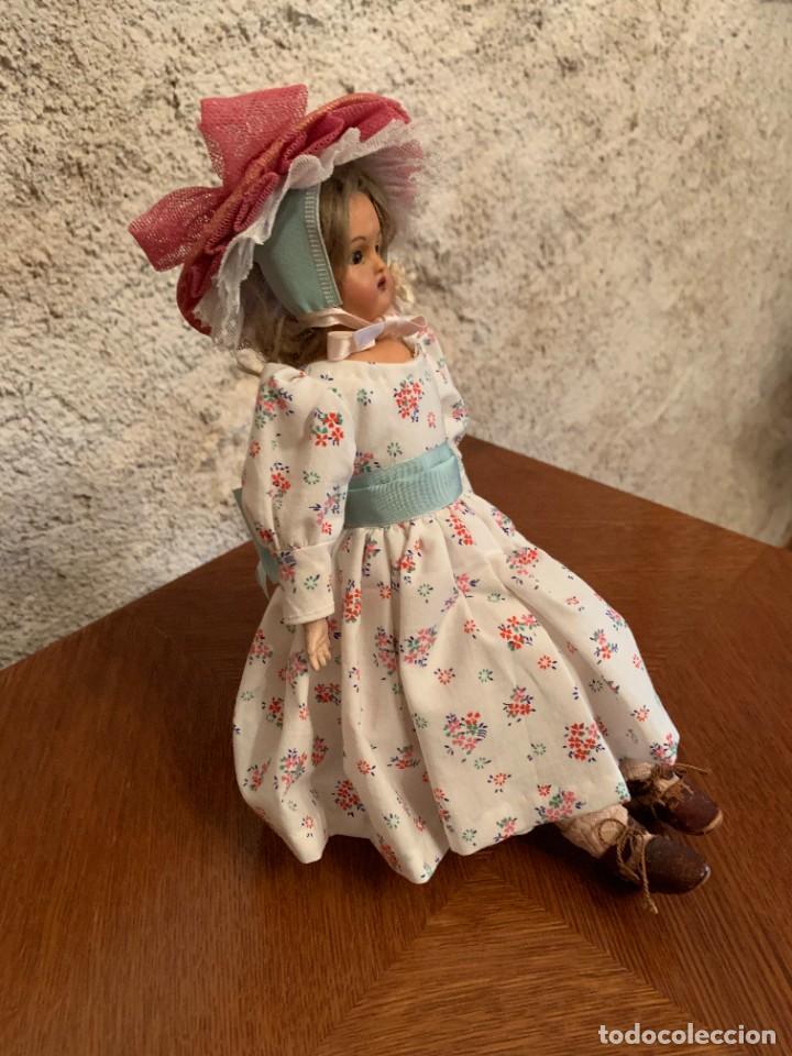 Muñecas Celuloide: Muñeca Kammer & Reinhardt, cuerpo de piel de cabritilla. 30 cms. Ojos durmientes. Años 1920. - Foto 2 - 224533570