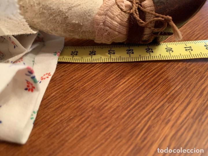 Muñecas Celuloide: Muñeca Kammer & Reinhardt, cuerpo de piel de cabritilla. 30 cms. Ojos durmientes. Años 1920. - Foto 17 - 224533570