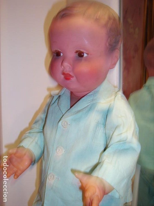 Muñecas Celuloide: Antiguo muñeco de celuloide francés, marcado MOLINO, años 40/50 - Foto 2 - 225295230
