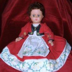 Muñecas Celuloide: ANTIGUA MUÑECA DE CELULOIDE Y OJOS FLIRTY MARCADA ATHENA. Lote 227084030