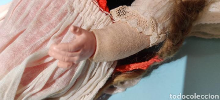 Muñecas Celuloide: Muñeca alemana Minerva 32 cm - Foto 7 - 232870460