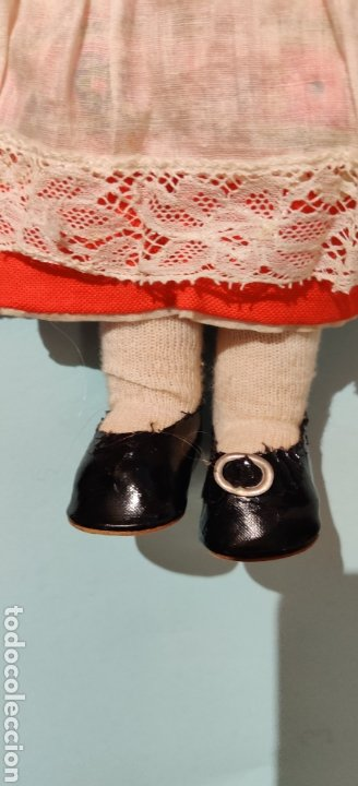 Muñecas Celuloide: Muñeca alemana Minerva 32 cm - Foto 9 - 232870460