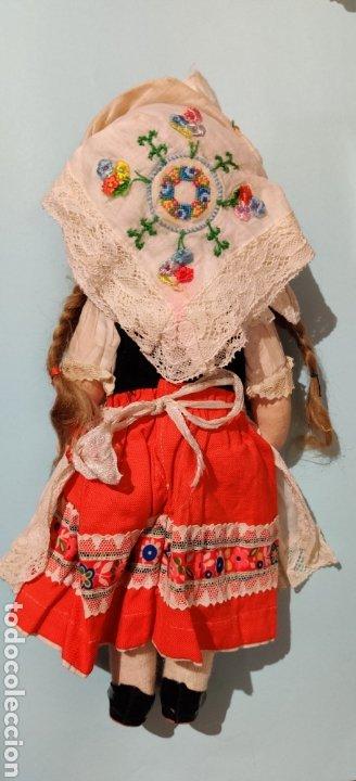 Muñecas Celuloide: Muñeca alemana Minerva 32 cm - Foto 4 - 232870460