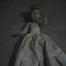 Muñecas Celuloide: ANTIGUA MUÑECA CELULOIDE OJOS DURMIENTES 17 CM. Lote 243427810