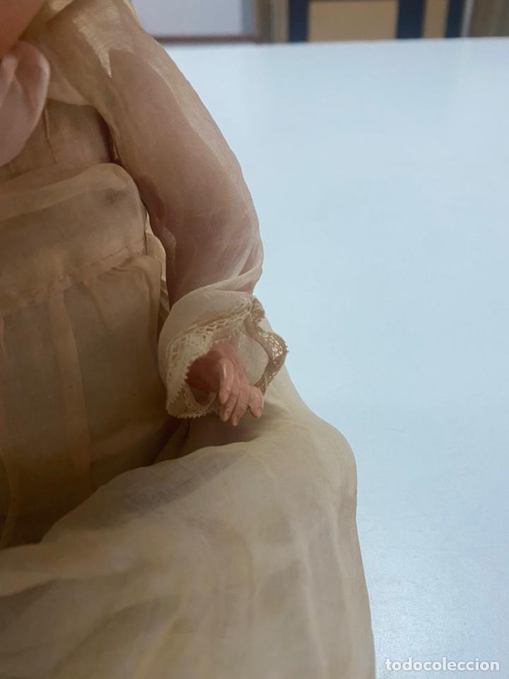 Muñecas Celuloide: ANTIGUA MUÑECA ALEMANA SCHUTZ MARKE S 30 CON ALTAVOZ Y COMPLEMENTOS - Foto 5 - 243997200