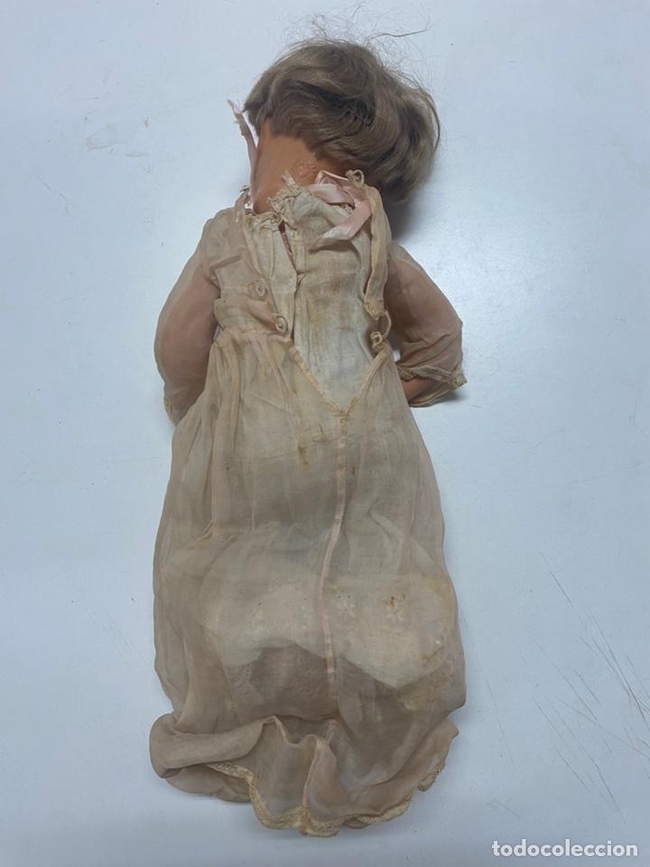Muñecas Celuloide: ANTIGUA MUÑECA ALEMANA SCHUTZ MARKE S 30 CON ALTAVOZ Y COMPLEMENTOS - Foto 13 - 243997200