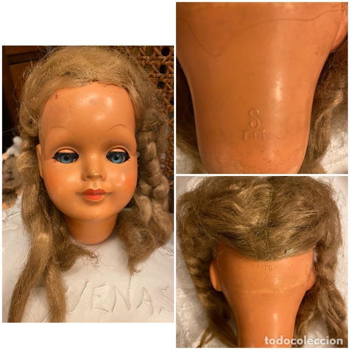 Muñecas Celuloide: Lote de 4 cabezas de muñecas antiguas celuloide - Foto 5 - 244773235