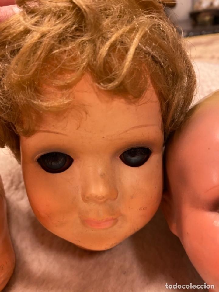 Muñecas Celuloide: Lote de 6 cabezas antiguas de celuloide - Foto 5 - 245238500