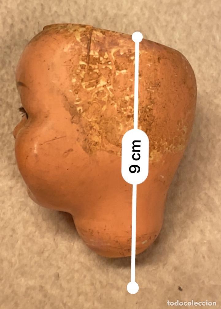 Muñecas Celuloide: Lote de 6 cabezas antiguas de celuloide - Foto 8 - 245238500