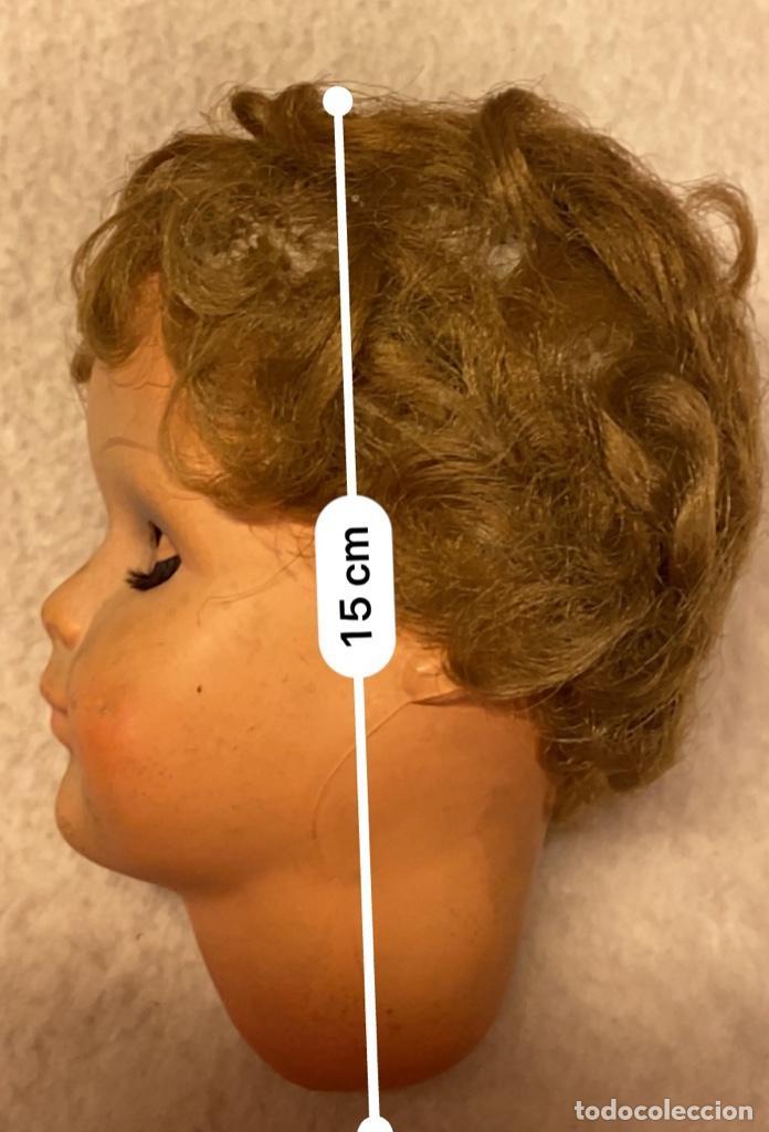 Muñecas Celuloide: Lote de 6 cabezas antiguas de celuloide - Foto 10 - 245238500