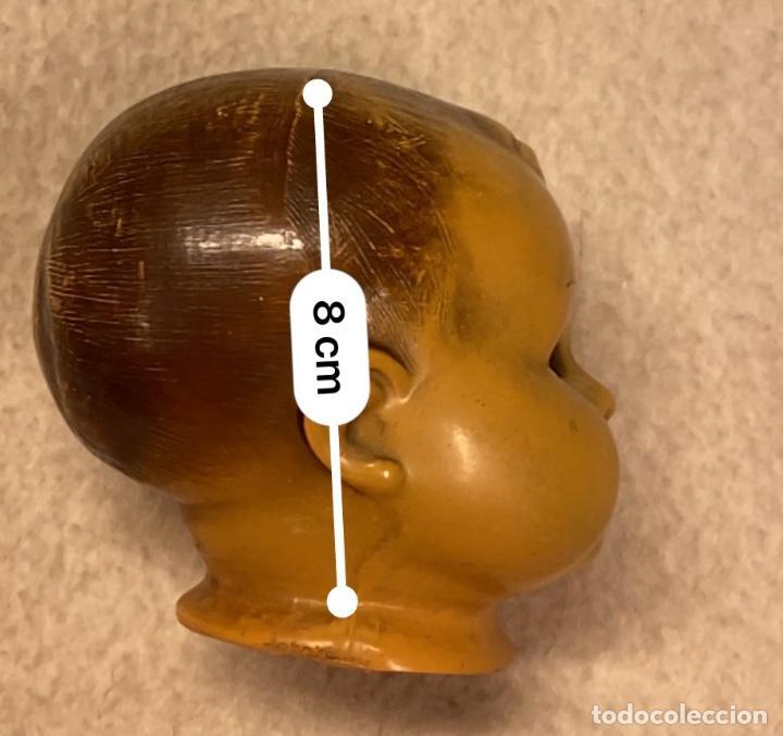 Muñecas Celuloide: Lote de 6 cabezas antiguas de celuloide - Foto 16 - 245238500