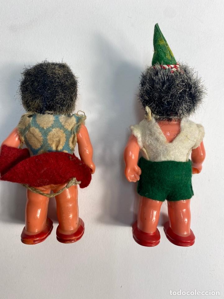 Muñecas Celuloide: PAREJA MUÑECOS MECKI CELULOIDE GESC GESCH M.W.GERMANY. AÑOS 50. - Foto 4 - 252120455