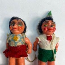 Muñecas Celuloide: PAREJA MUÑECOS MECKI CELULOIDE GESC GESCH M.W.GERMANY. AÑOS 50.. Lote 252120455