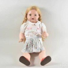 Muñecas Celuloide: ANTIGUA MUÑECA ALEMANA DE CELULOIDE LLORONA CON OJOS DE CRISTAL. Lote 254685600