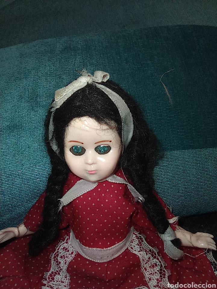 Muñecas Celuloide: Antigua muñeca de Industria Argentina - de celuloide, ojos durmientes, Bebé. Única - Foto 5 - 255652835