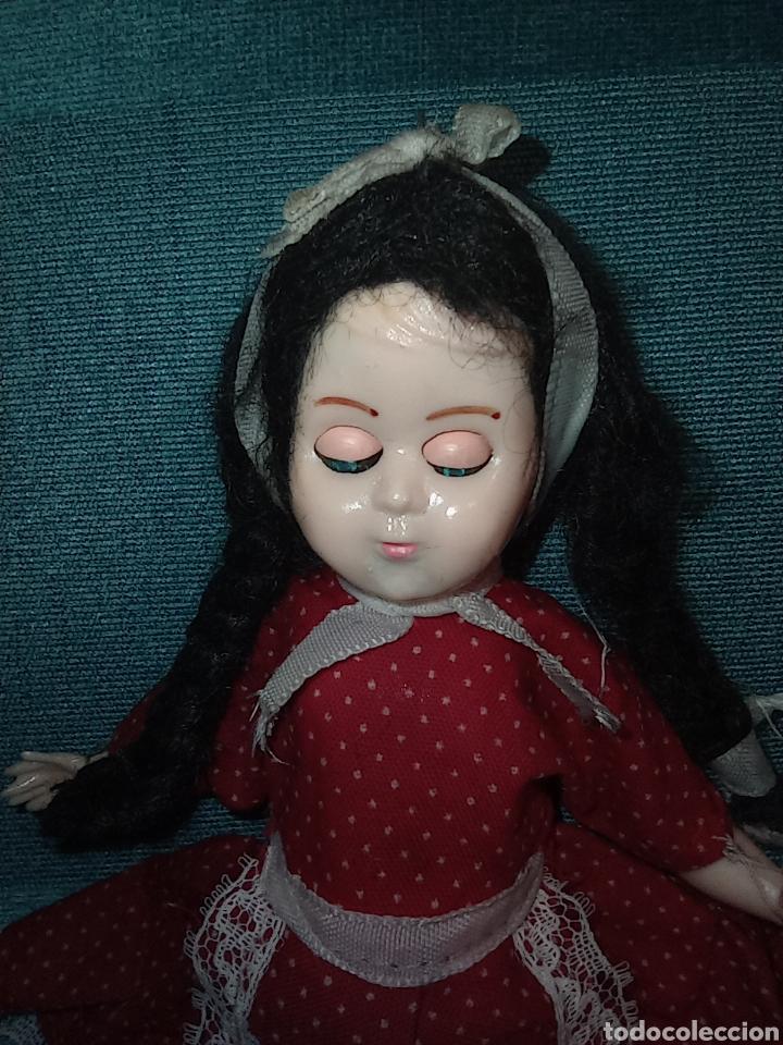 Muñecas Celuloide: Antigua muñeca de Industria Argentina - de celuloide, ojos durmientes, Bebé. Única - Foto 6 - 255652835