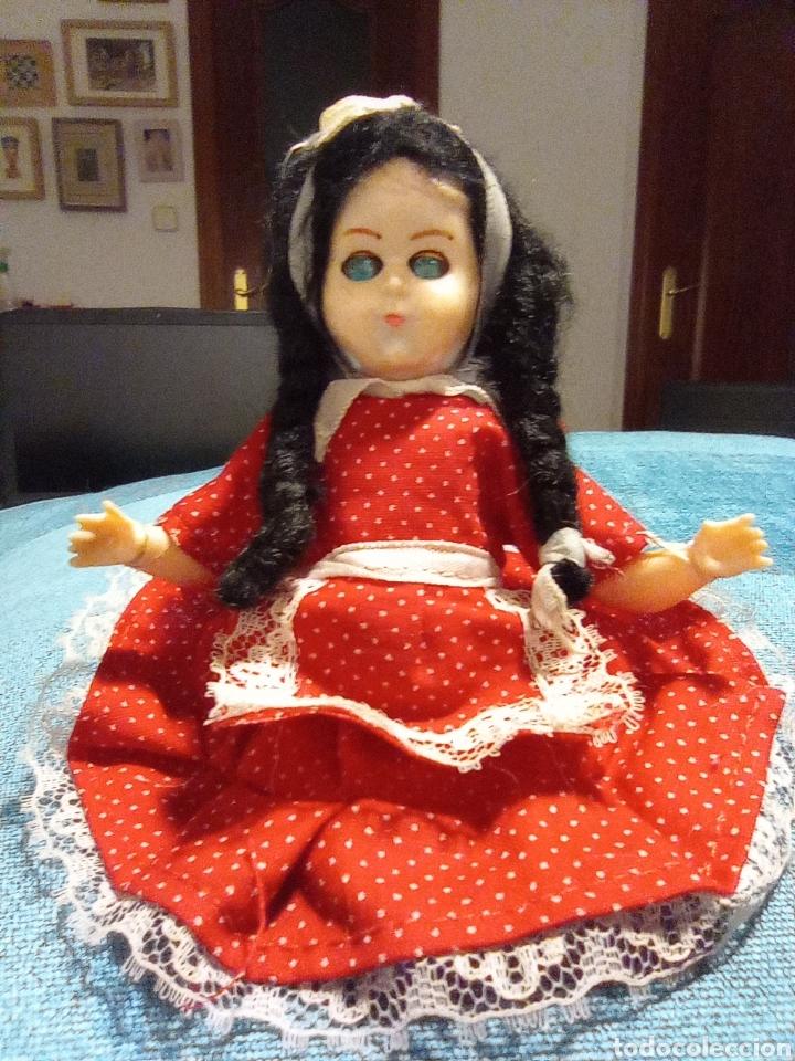 Muñecas Celuloide: Antigua muñeca de Industria Argentina - de celuloide, ojos durmientes, Bebé. Única - Foto 3 - 255652835