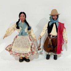 Muñecas Celuloide: ANTIGUOS MUÑECOS TRADICIONALES DE AMÉRICA LATINA CELULOIDE. Lote 256047500