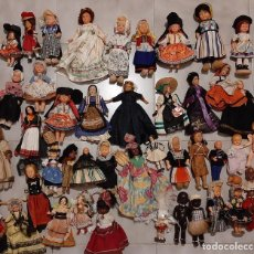 Muñecas Celuloide: LOTE 42 ANTIGUA MUÑECA CELULOIDE EXTRANJERA OJOS DURMIENTESPINTADO MANO FOLKLORE TRIBAL TRADICIONAL. Lote 257717660