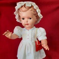 Bambole Celluloide: ANTIGUA MUÑECA DE CELULOIDE.MARCA TORTUGA 1940. Lote 264183972