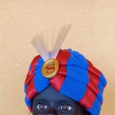 Muñecas Celuloide: PRECIOSO MUÑECO ANTIGUO ALEMAN SELLADO EN LA NUCA VESTIDO TIPO ALADIN. Lote 266362223
