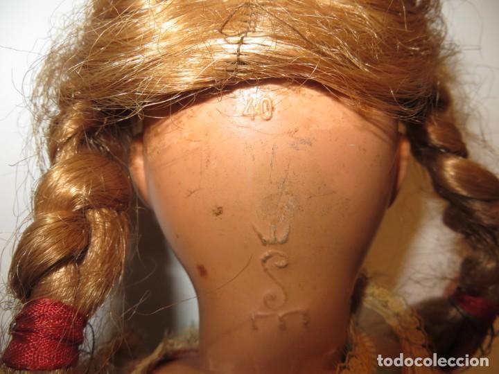Muñecas Celuloide: MUÑECA DE CELULOIDE DE 40 CMS ALTA MUY BONITA BUEN ESTADO,BARATA - Foto 10 - 267486079
