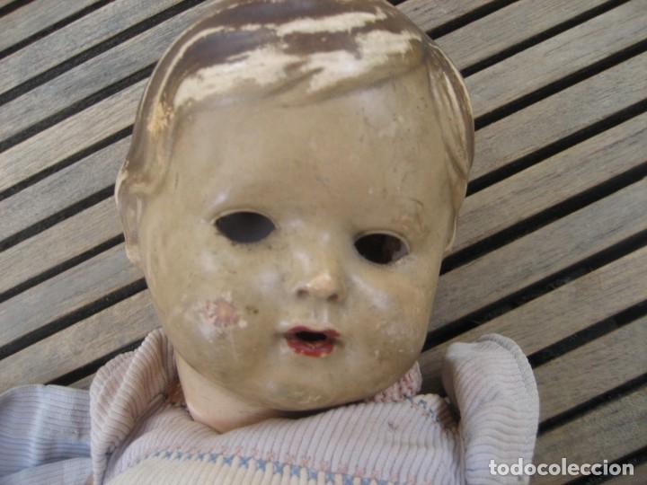 Muñecas Celuloide: antiguo muñeco aleman marca tortuga 37 cm . celuloide . con faltas - Foto 14 - 287319218
