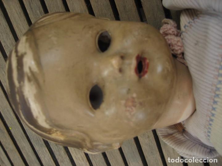 Muñecas Celuloide: antiguo muñeco aleman marca tortuga 37 cm . celuloide . con faltas - Foto 2 - 287319218