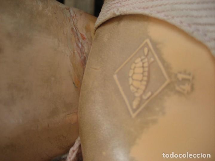 Muñecas Celuloide: antiguo muñeco aleman marca tortuga 37 cm . celuloide . con faltas - Foto 11 - 287319218