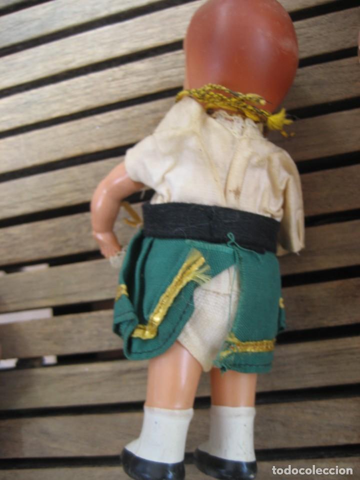 Muñecas Celuloide: 2 pequeñas muñeca antiguas de celuloide 1 marca la tortuga alemana 21 y 15 cm defectuosas ver fotos - Foto 4 - 287326473