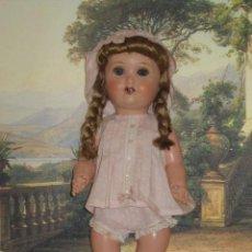 Muñecas Composición: PRECIOSA MUÑECA ALEMANA DE CARTON. Lote 26830427