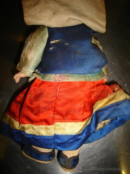 Muñecas Composición: PAREJA DE CHINOS EN PASTA DURA - Foto 6 - 42852313