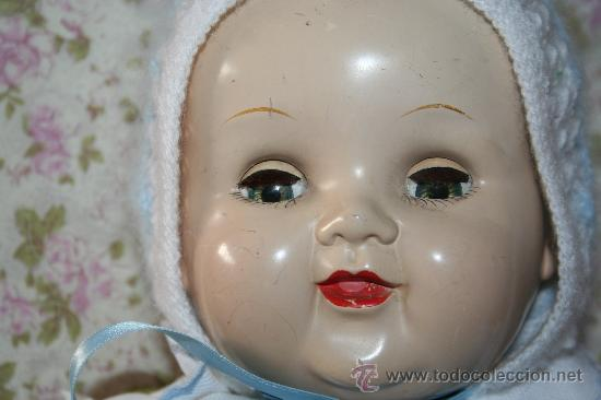 Muñecas Composición: antigua muñeca ideal doll o muñeco bebe con faldon americano - Foto 9 - 34779714