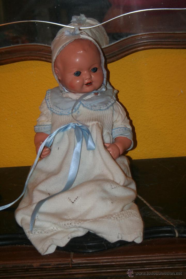Muñecas Composición: antiguo muñeco composicion bebe - Foto 3 - 42575813