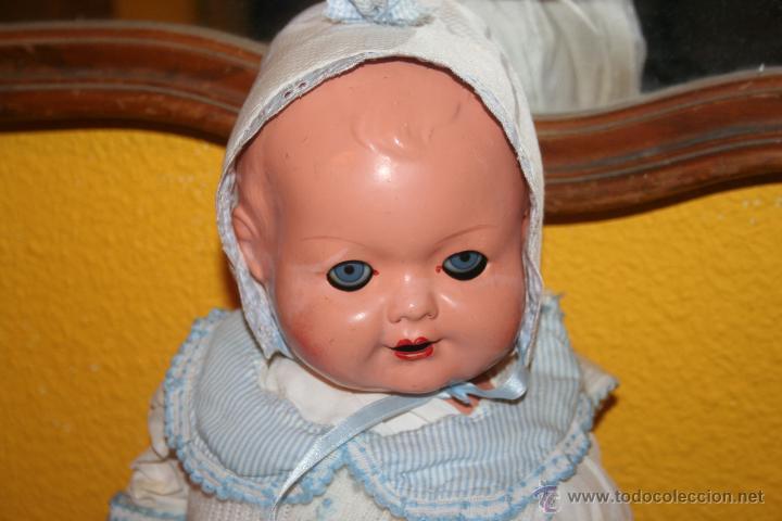 Muñecas Composición: antiguo muñeco composicion bebe - Foto 4 - 42575813