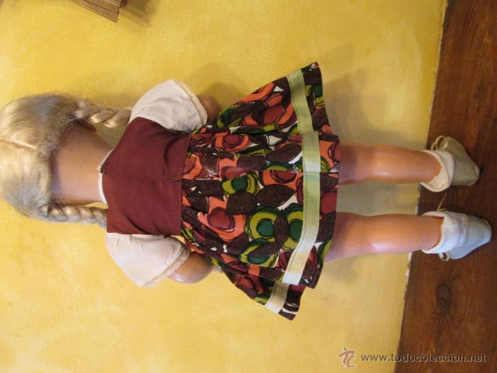 Muñecas Composición: Antigua muñeca alemana Sonneberg celuloide y composicion 53 cms - Foto 4 - 45041621