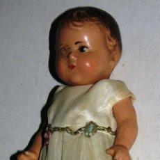Muñecas Composición: ANTIGUA VINTAGE ORIGINAL PRECIOSA MUÑECA COMPOSICION MARCADA MARCA SELLO ALEXANDER USA AÑOS 1930 'S . Lote 50693496