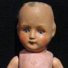 Muñecas Composición: ANTIGUO MUÑECO DE COMPOSICIÓN PPIO. S. XX. Lote 51053031