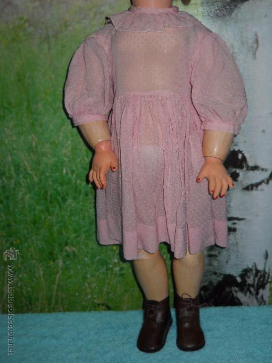 Muñecas Composición: Antigua muñeca de composicion de 64 cm - Foto 19 - 53199329