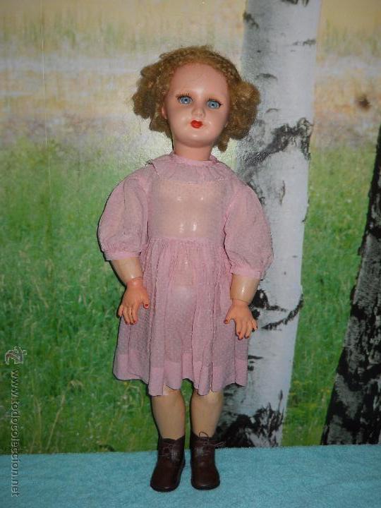 Muñecas Composición: Antigua muñeca de composicion de 64 cm - Foto 21 - 53199329