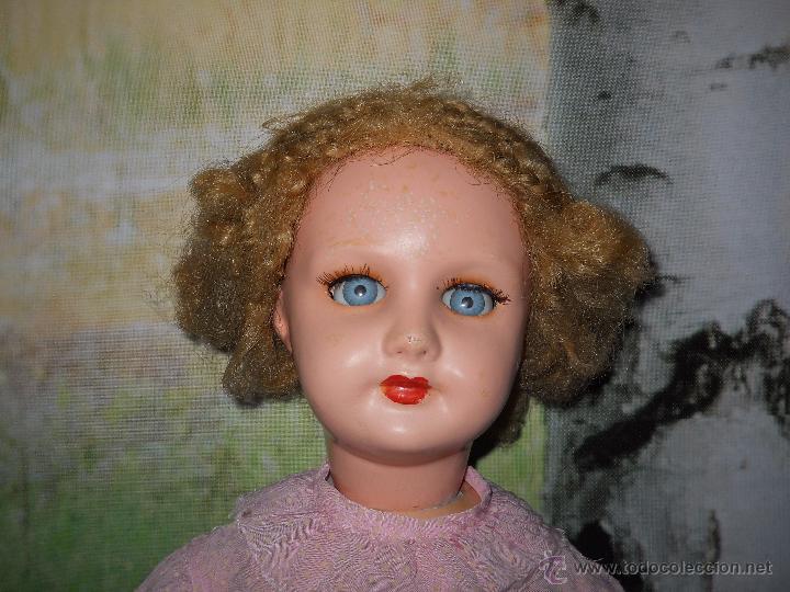 Muñecas Composición: Antigua muñeca de composicion de 64 cm - Foto 22 - 53199329