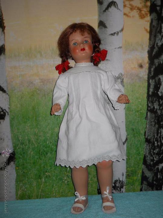 Muñecas Composición: Antigua muñeca de 78 cm - Foto 20 - 53433735
