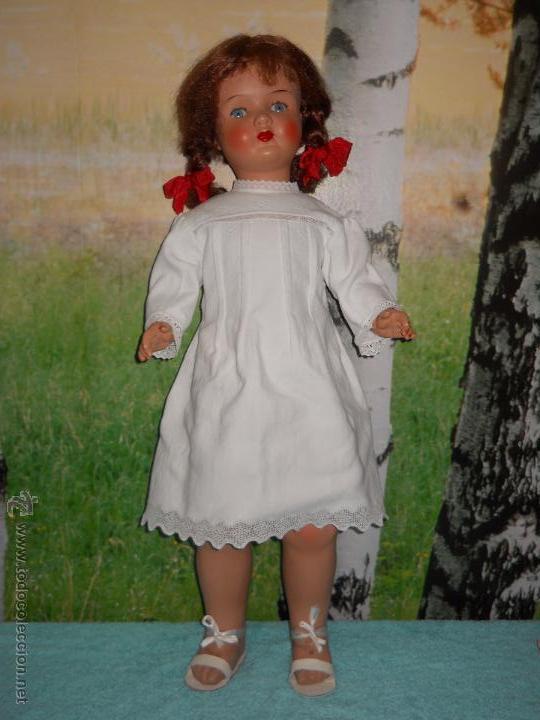 Muñecas Composición: Antigua muñeca de 78 cm - Foto 25 - 53433735