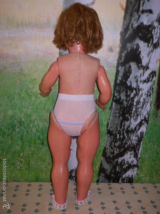 Muñecas Composición: Antigua muñeca de cartón piedra (73 cm). - Foto 9 - 173652072